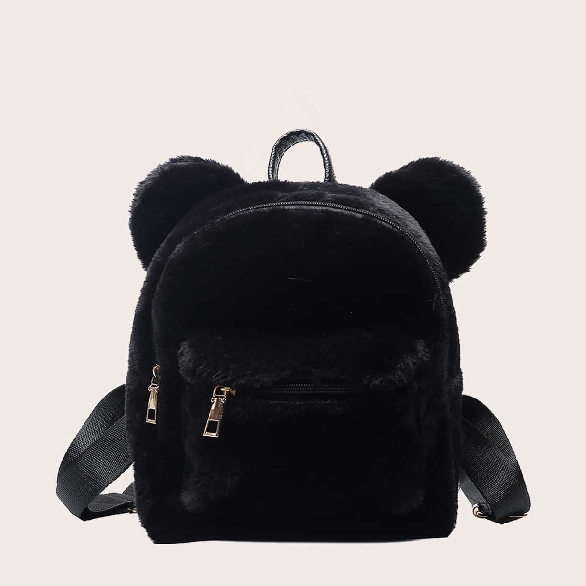 Регулируемый Мультяшный принт Детские рюкзаки SheIn skbag18201106766