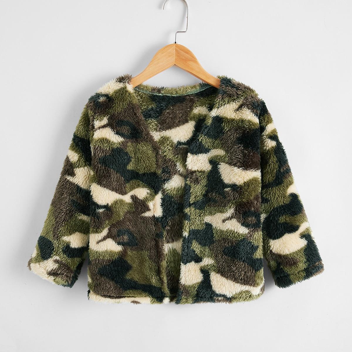 Камуфляж повседневный пальто для маленьких мальчиков