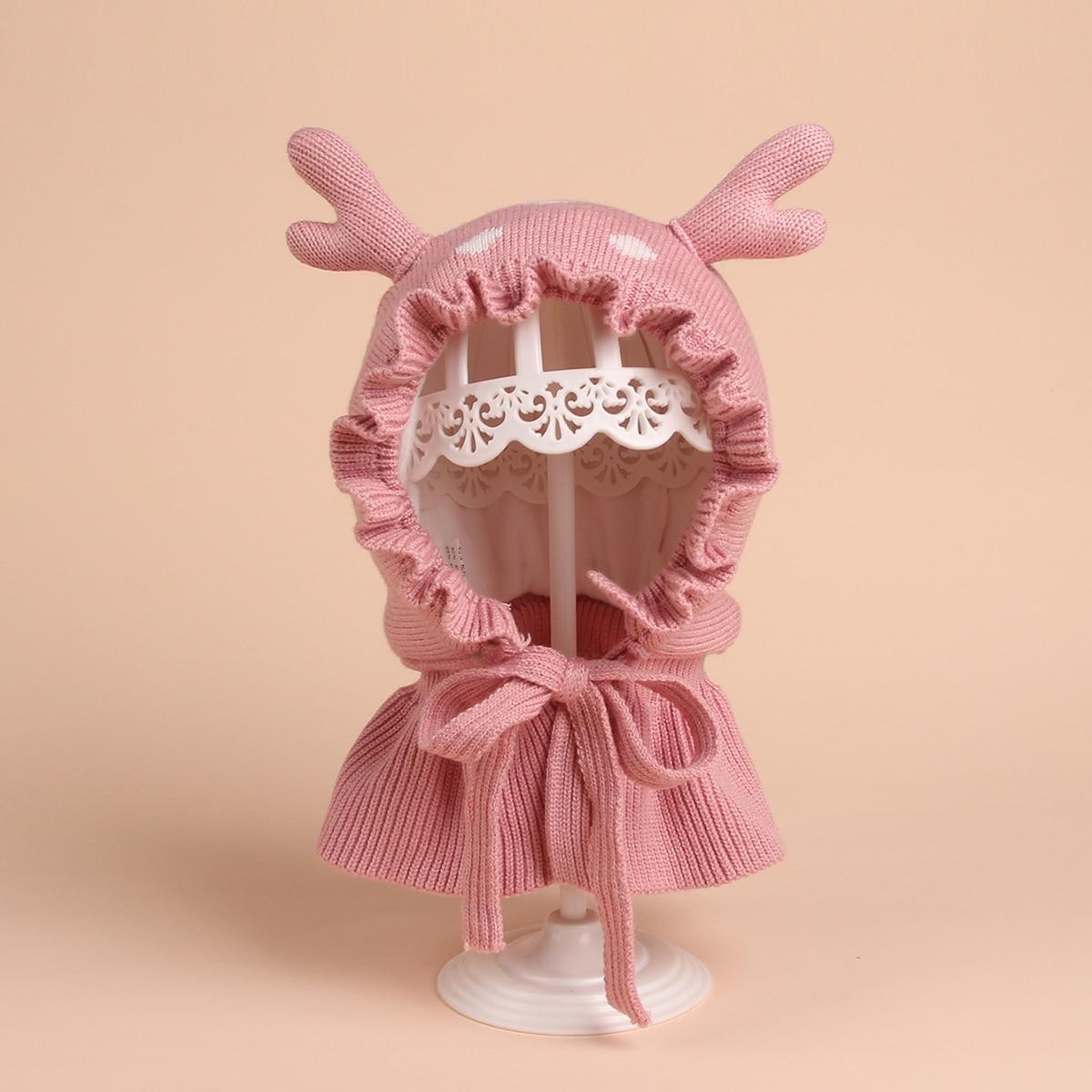 Baby Hut mit Rüschen
