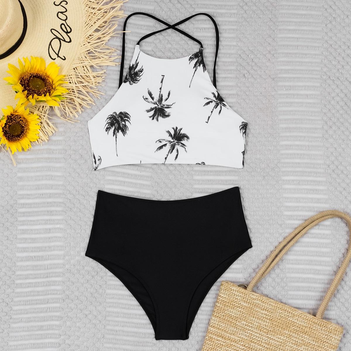 shein Boho Tropisch Bikini sets Kant