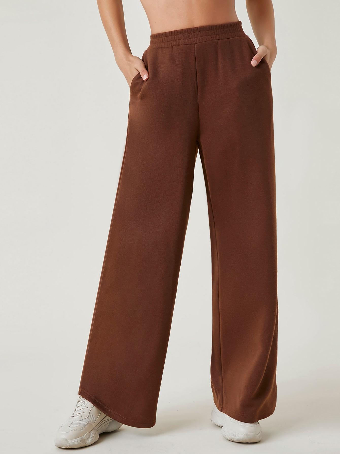 Solid Wide Leg Pants thumbnail