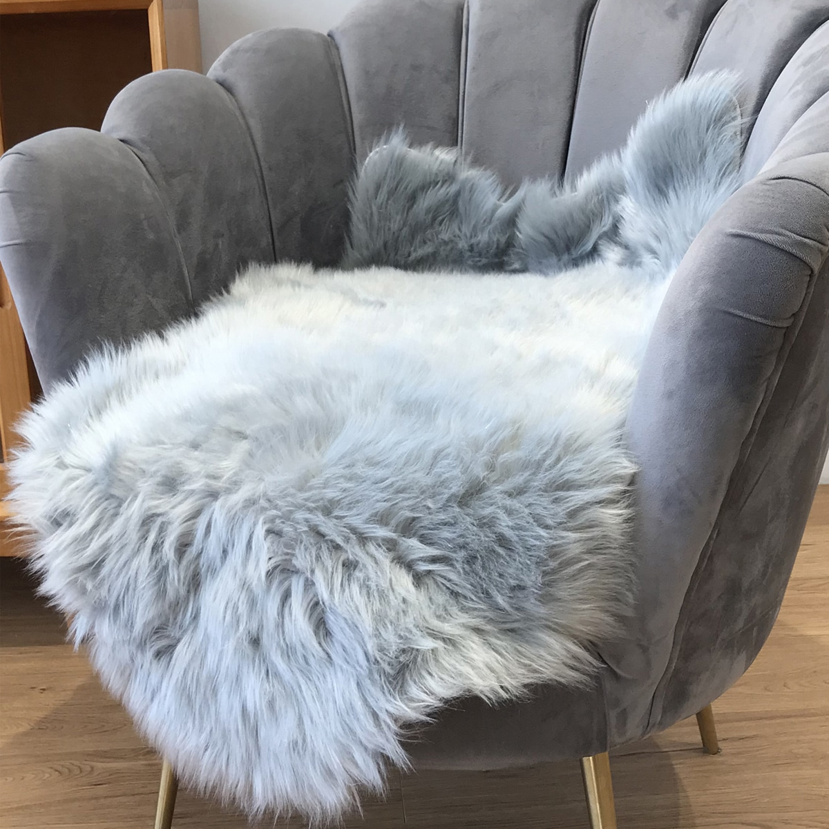 Einfache Plüsch Teppich