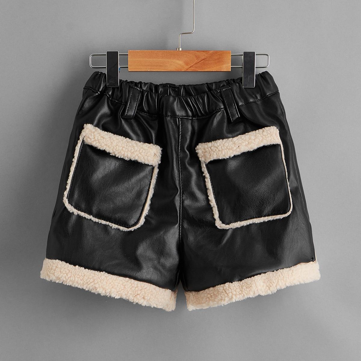 Карман повседневный шорты для девочек