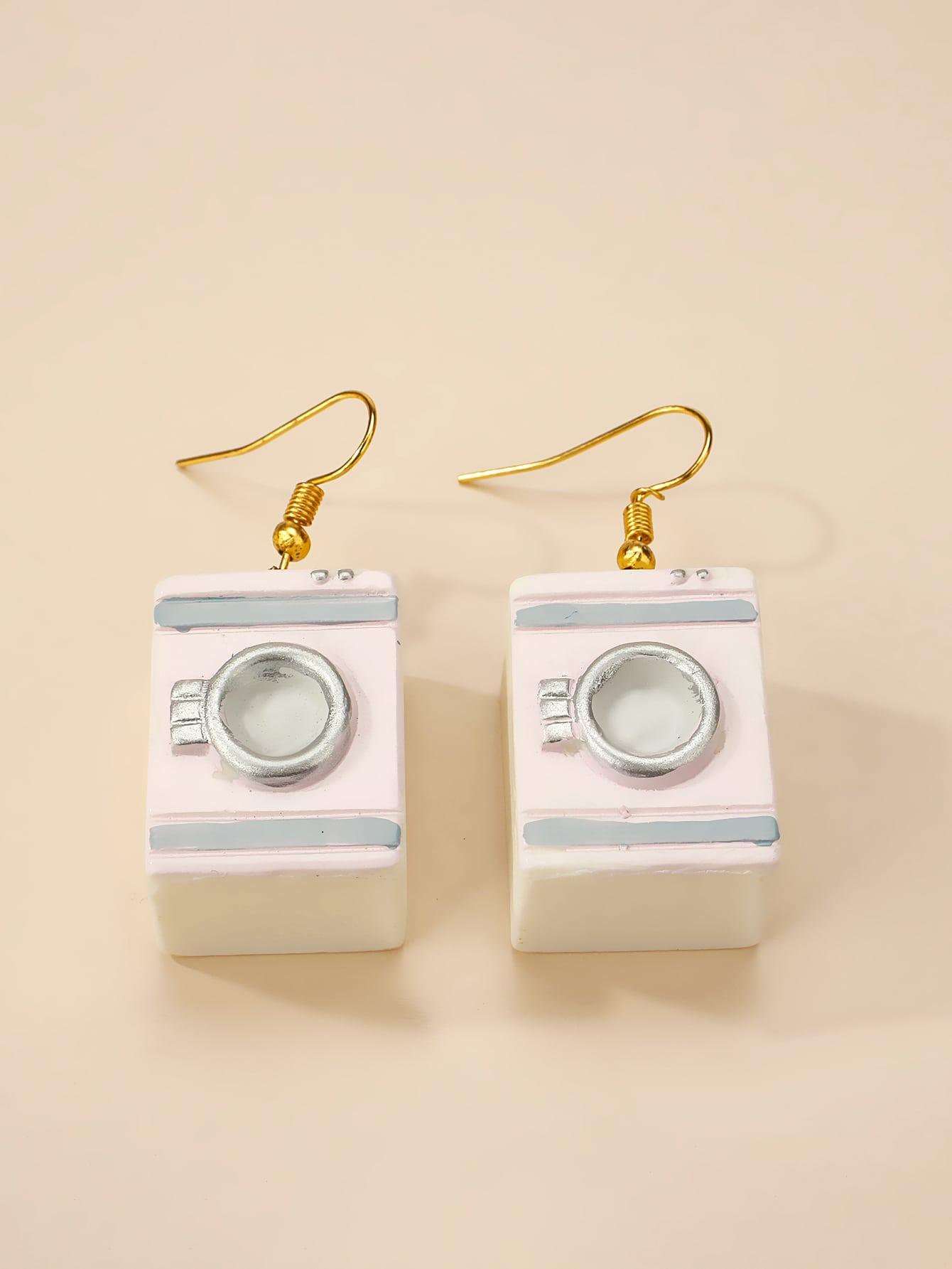 Washing Machine Drop Earrings thumbnail