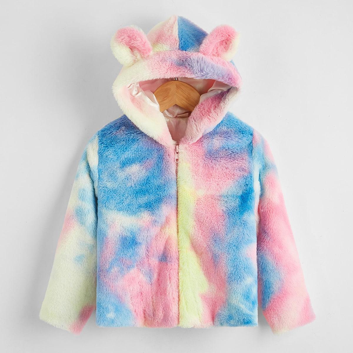 На молнии тай дай милый куртки для девочек