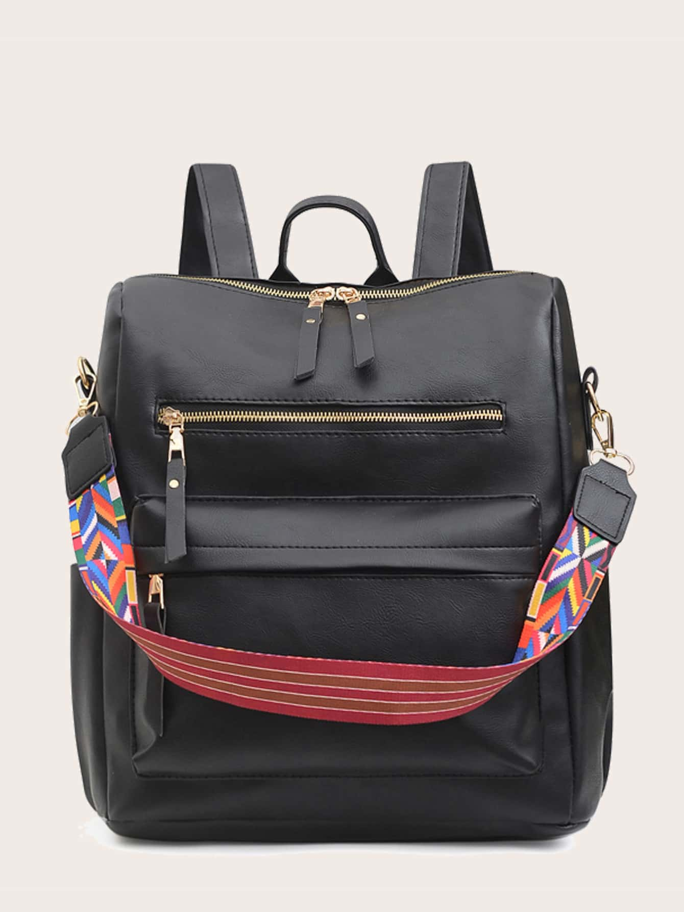 Zip Front Backpack thumbnail