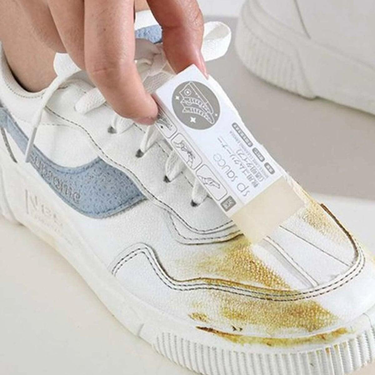 1шт ластик для чистки обуви