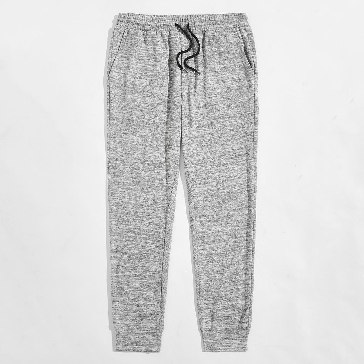 Карман одноцветный основы мужские брюки