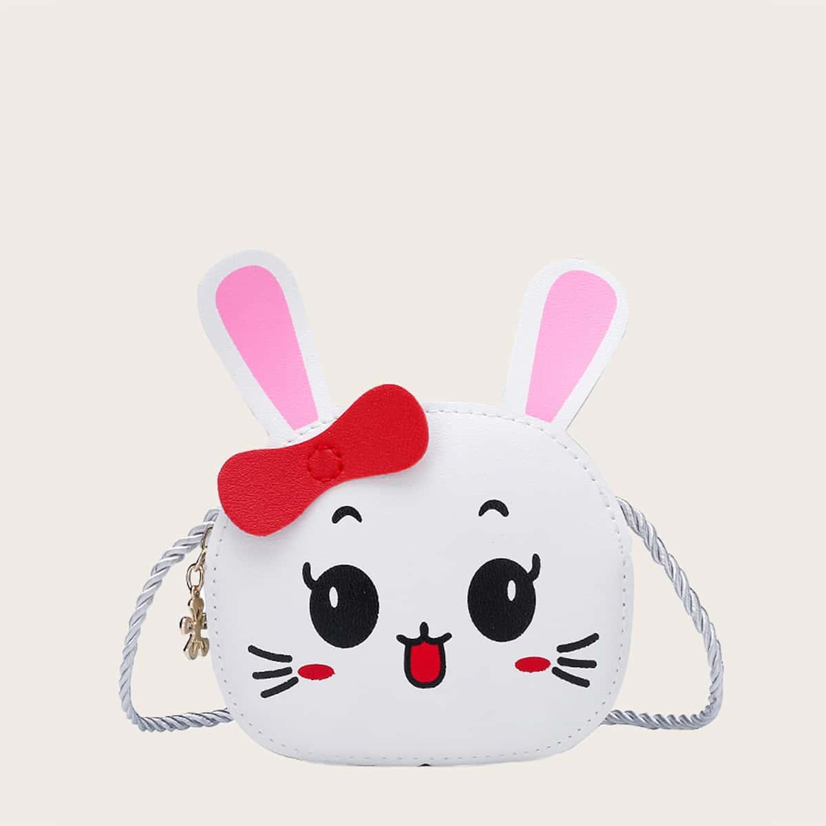 Сумка через плечо в форме кролика для девочек SheIn skbag18201114706