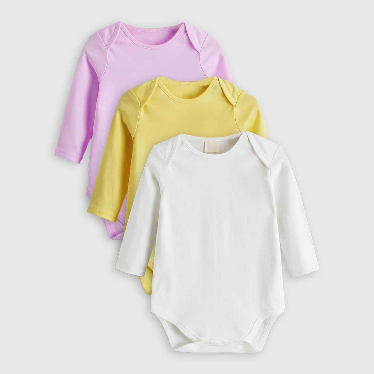 Одноцветный боди для малышей