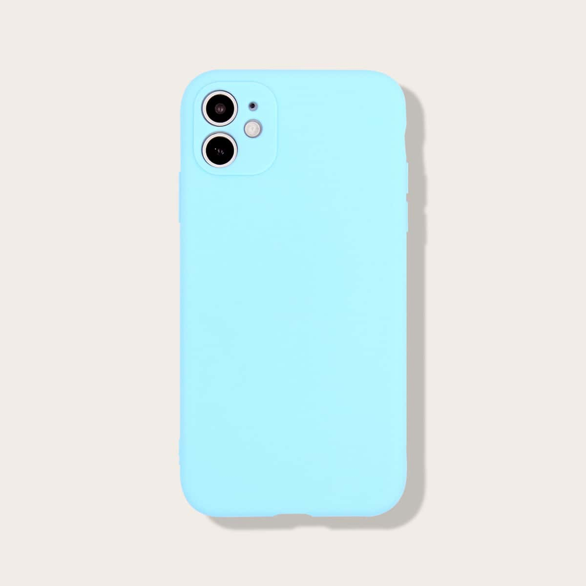 Custodia iPhone anti-fall monocolore
