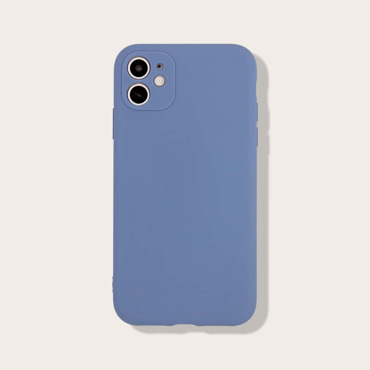 Custodia iPhone monocolore anti-caduta