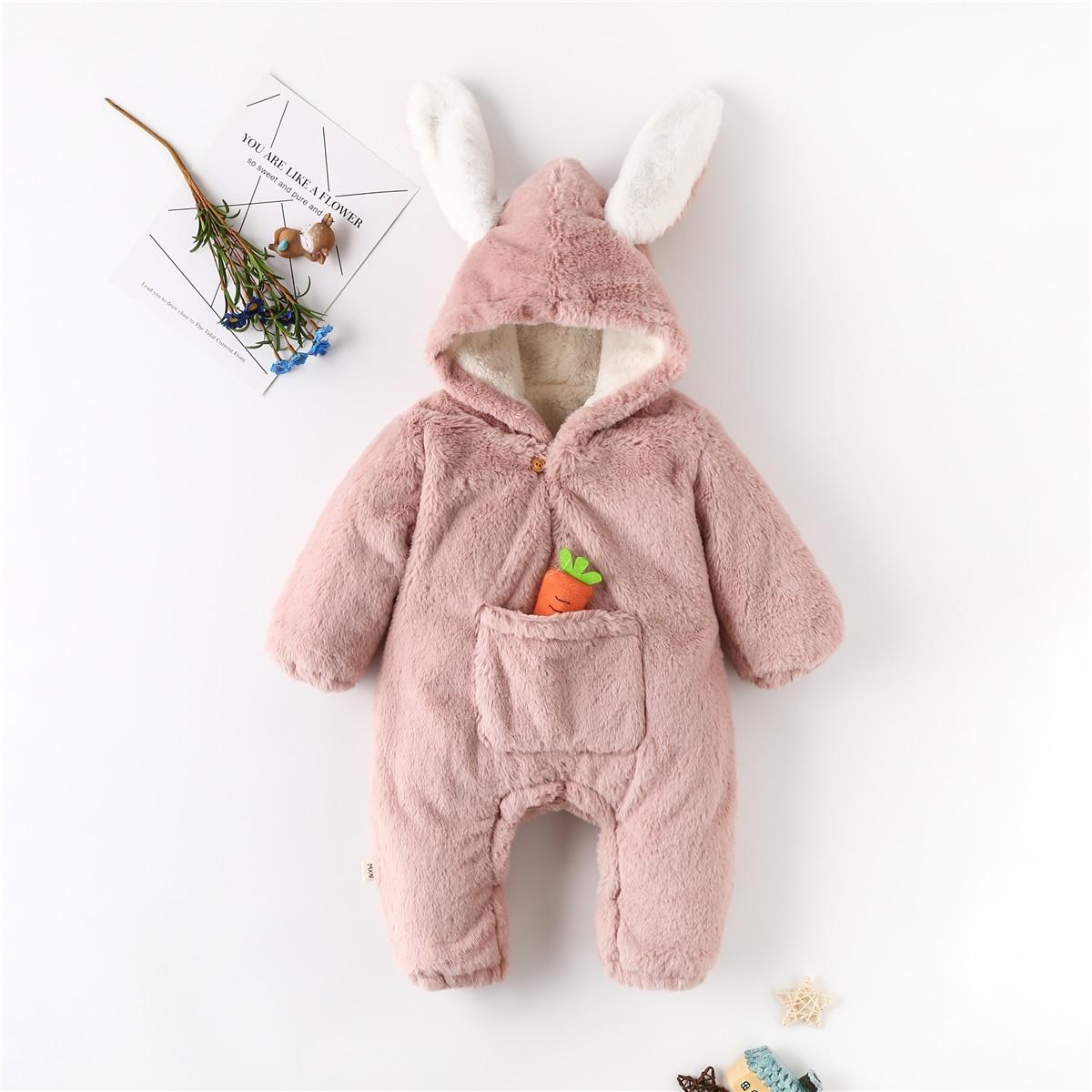 С карманами одноцветный костюм с дизайном  для малышей