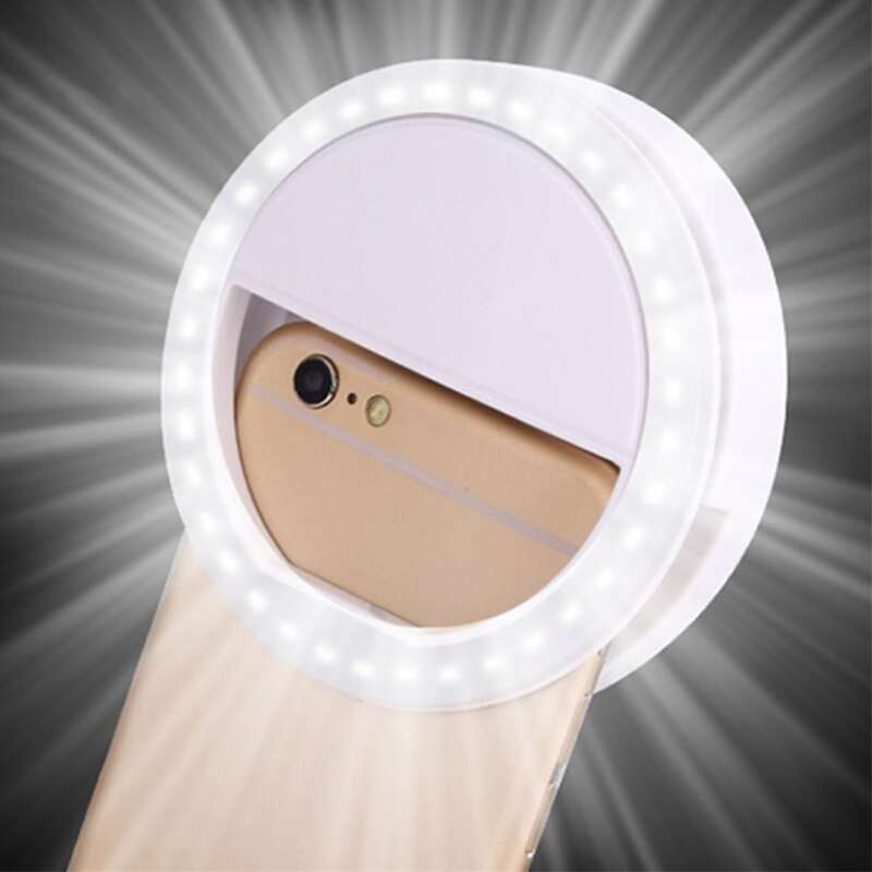 1pc Ring Fill Light, White