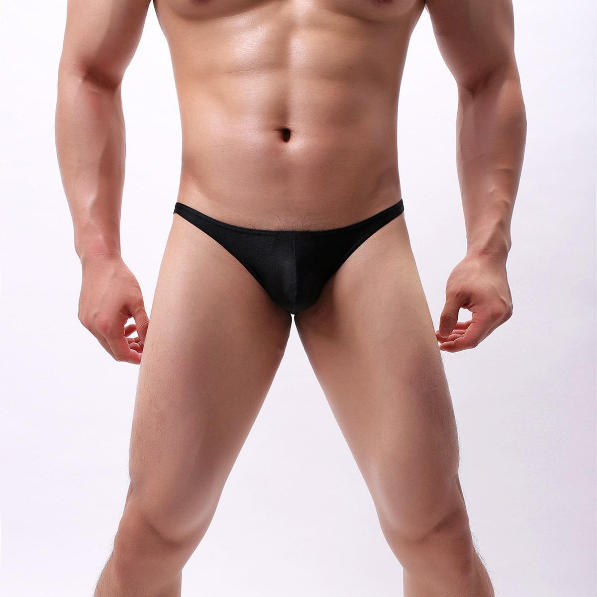 Ровный цвет повседневный мужское белье