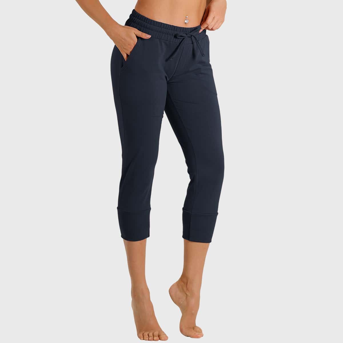 Спортивные брюки с узлом