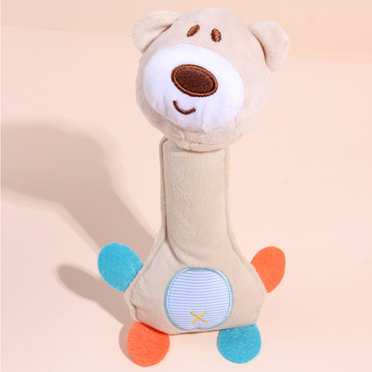 Hund Soundspielzeug mit Bären Design