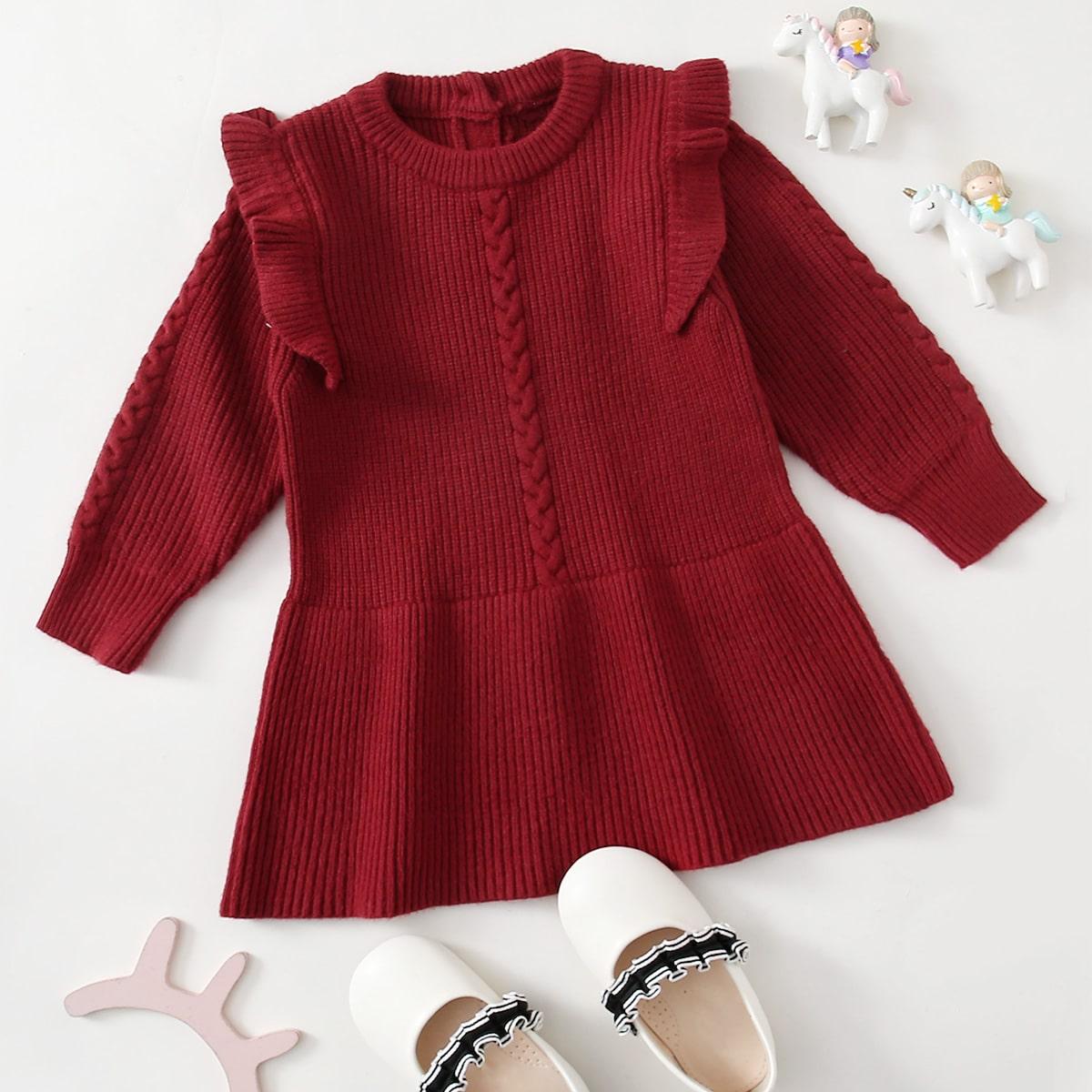 Трикотажные платья для малышей