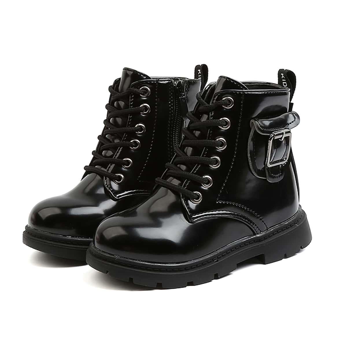 Ботинки с пряжкой для мальчиков