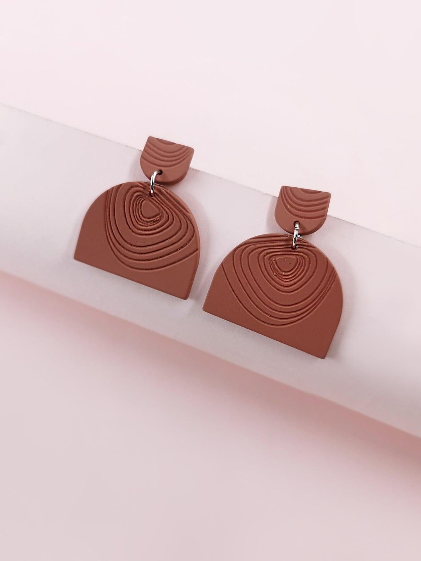 Engraved Drop Earrings thumbnail