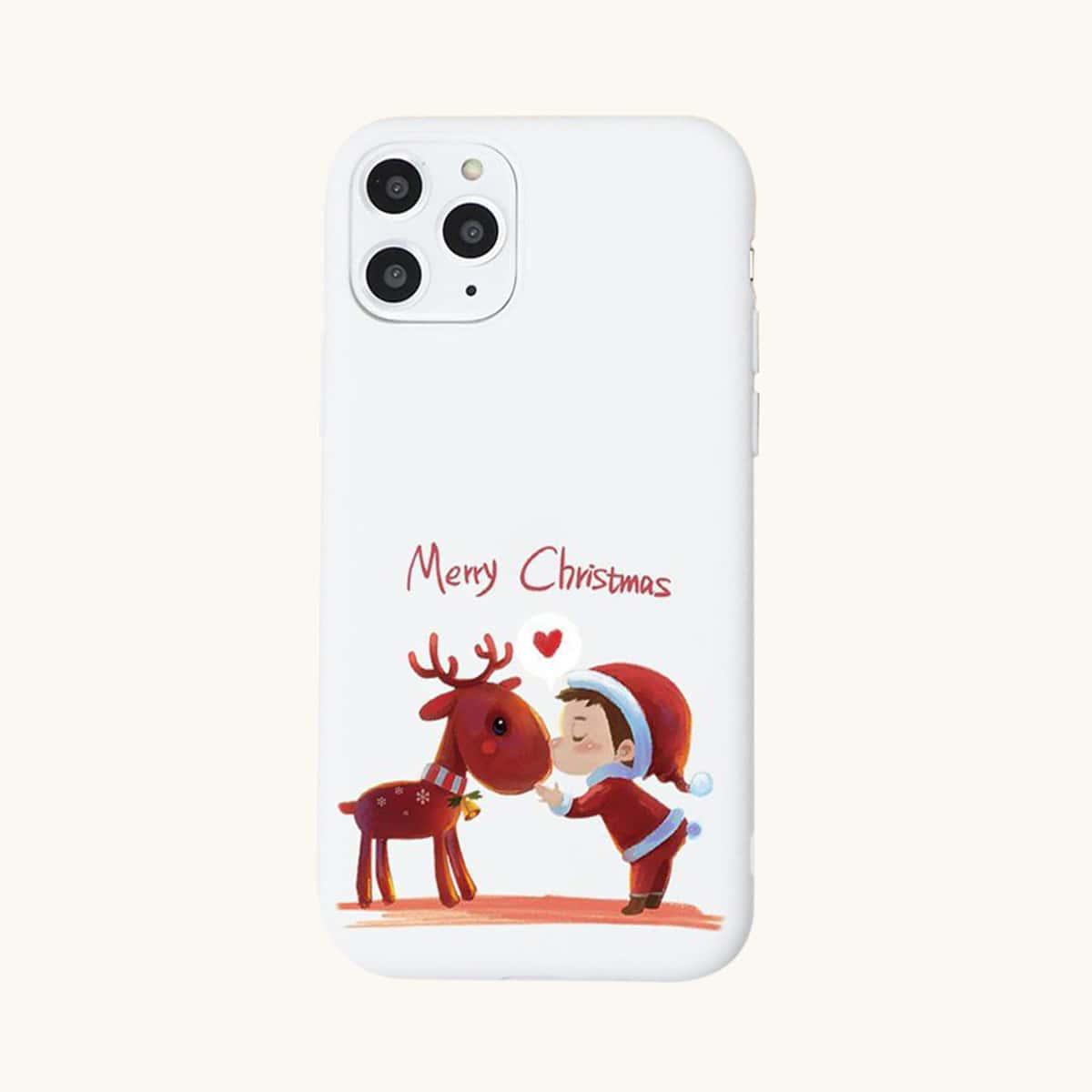 Handy Schutzhülle mit Weihnachten Muster