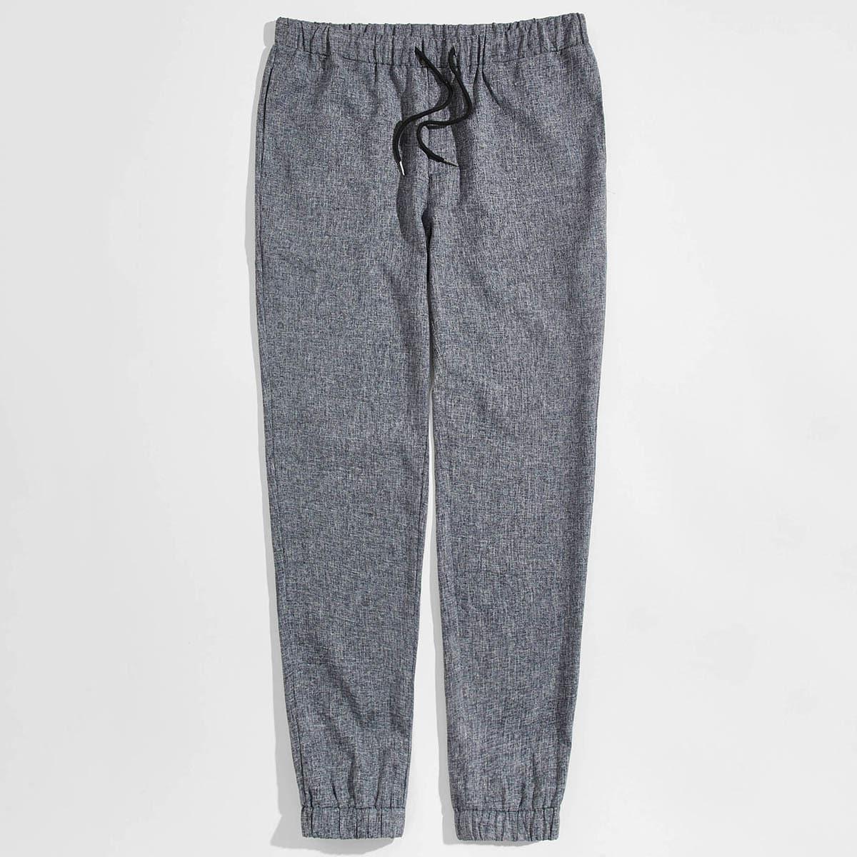 Мужские брюки на кулиске сльняным эффектом