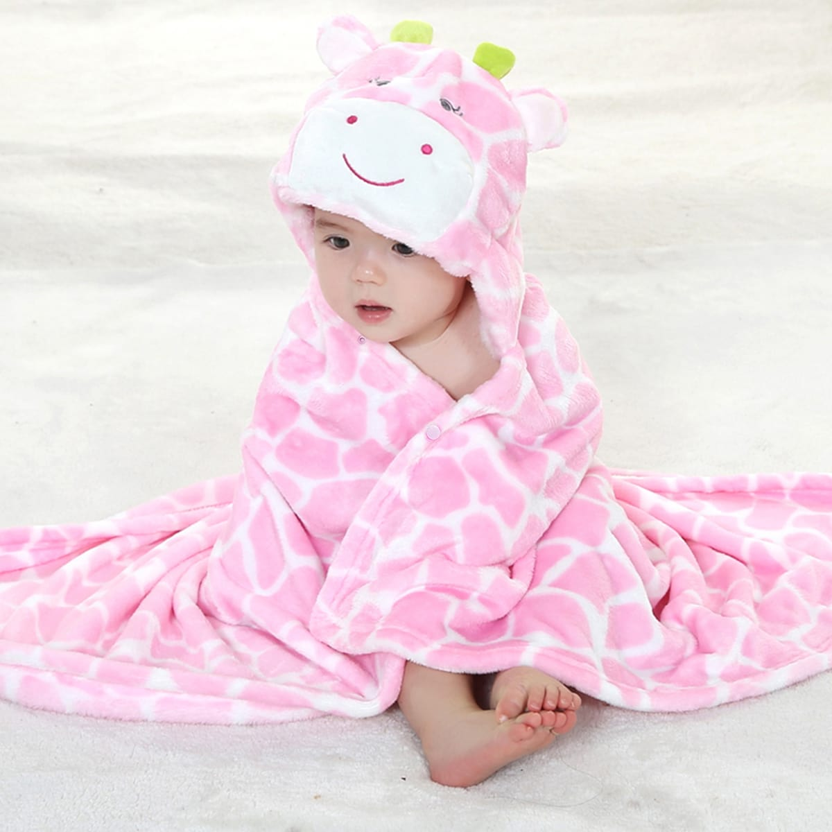 Asciugamani per neonati Ricamo Fumetto