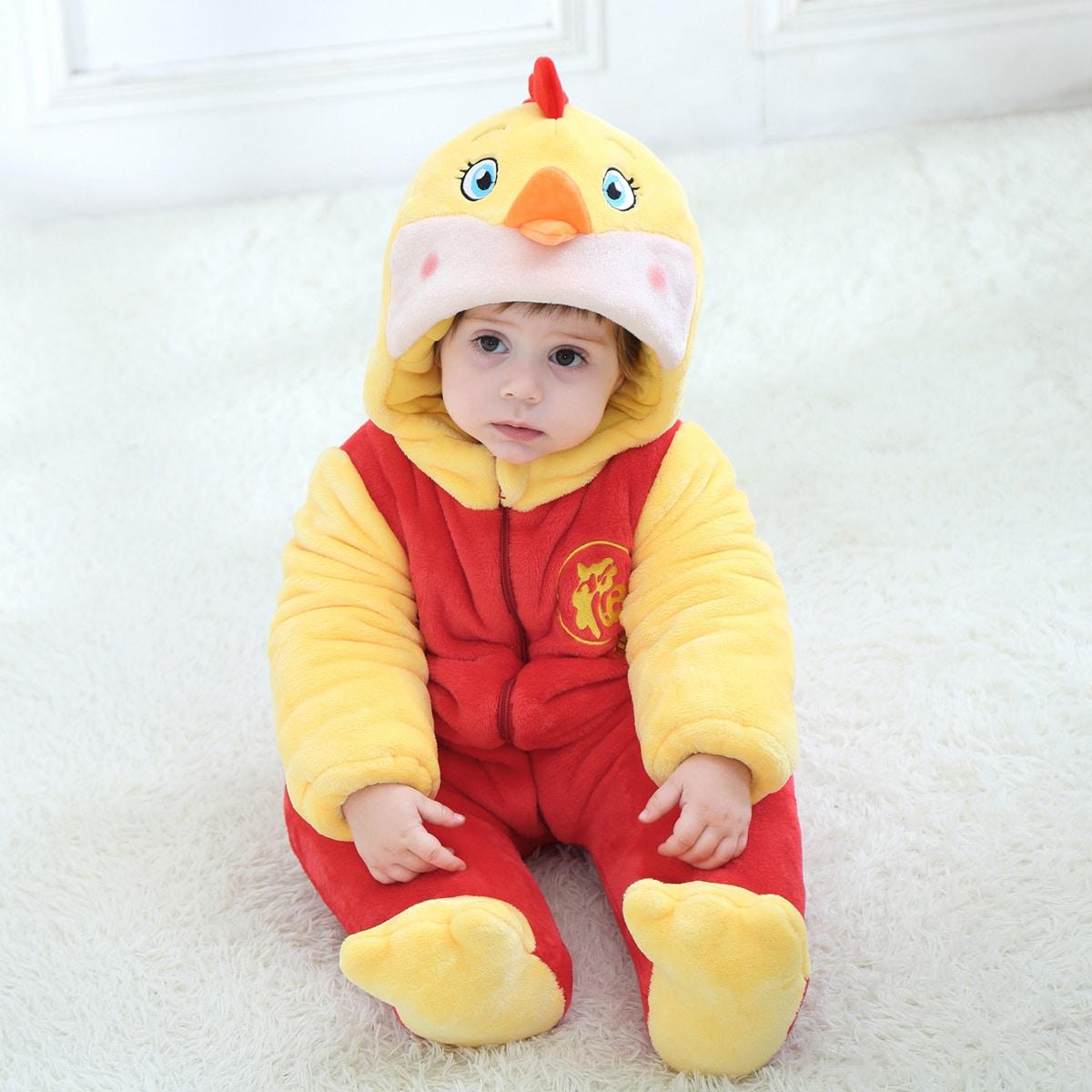 Аппликация мультяшный принт костюм с дизайном  для малышей