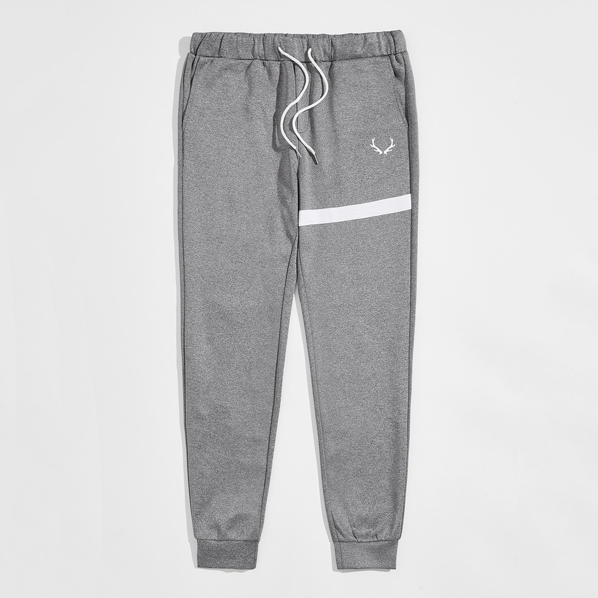 Карман контрастный институтский мужские брюки