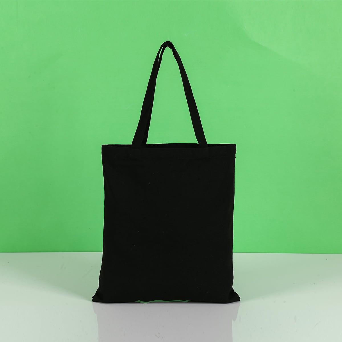 Минималистская сумка-шоппер большей емкости