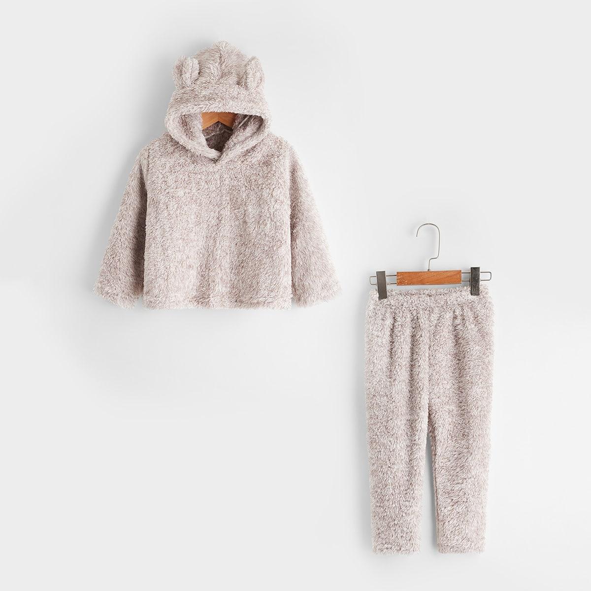 Аппликация одноцветный милый домашняя одежда для мальчиков