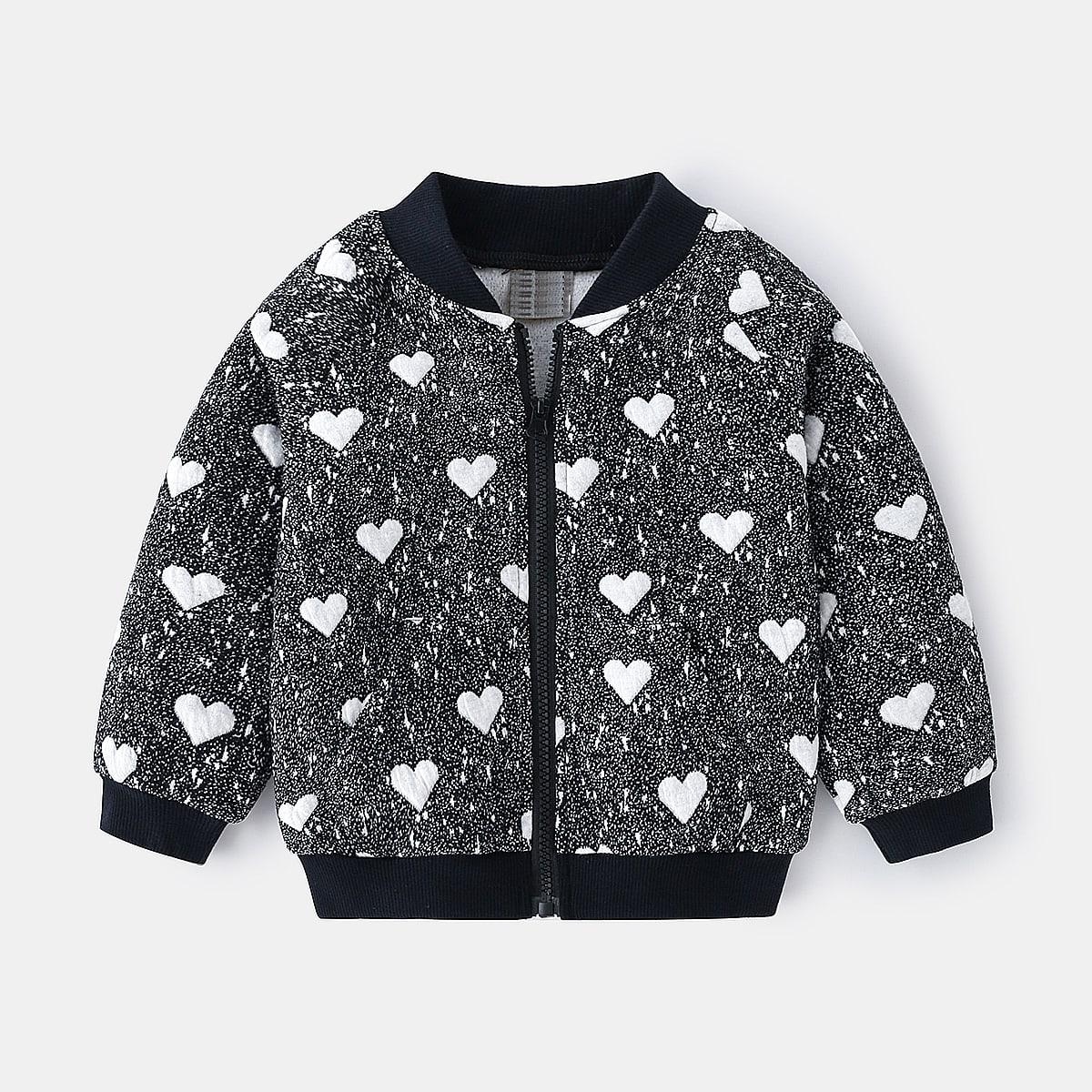 На молнии сердечко повседневный куртки для мальчиков