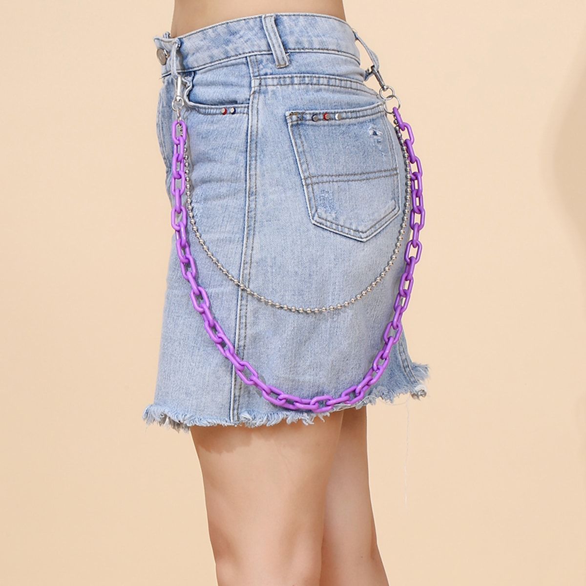 Многослойная цепочка для брюк