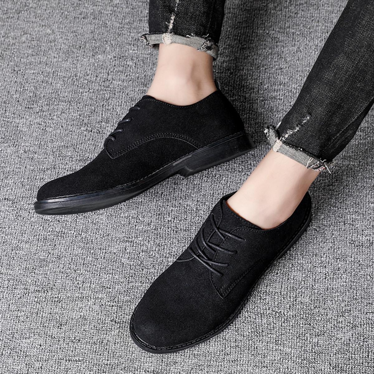 Одноцветный мужская официальная обувь