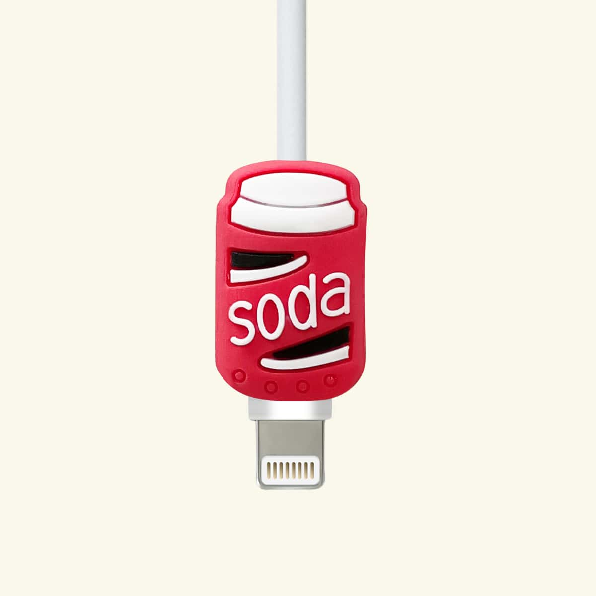 Beverage Can Design Data Cable Protector