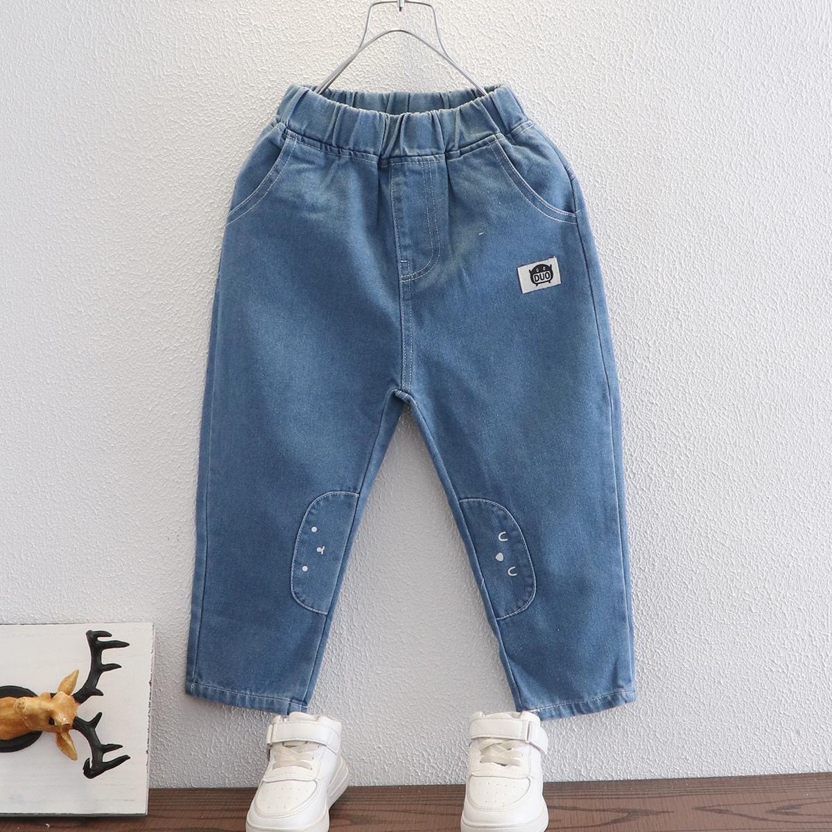 Карман буква джинсы для мальчиков