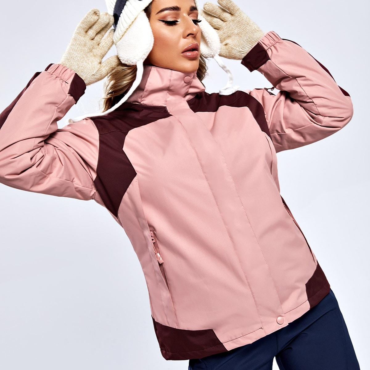 Куртка 3 в 1 с капюшоном и съемной флисовой подкладкой