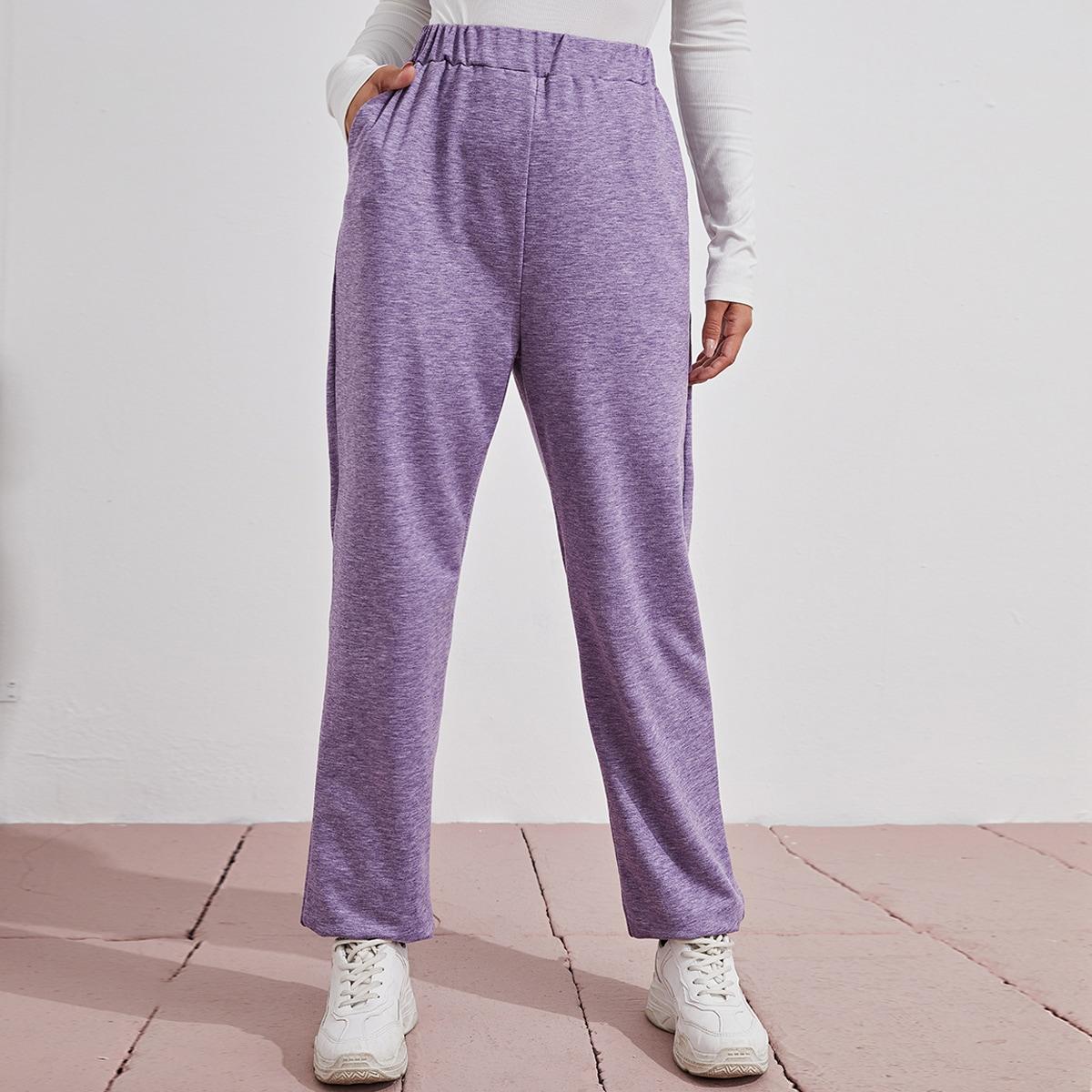 Спортивные брюки с эластичной талией