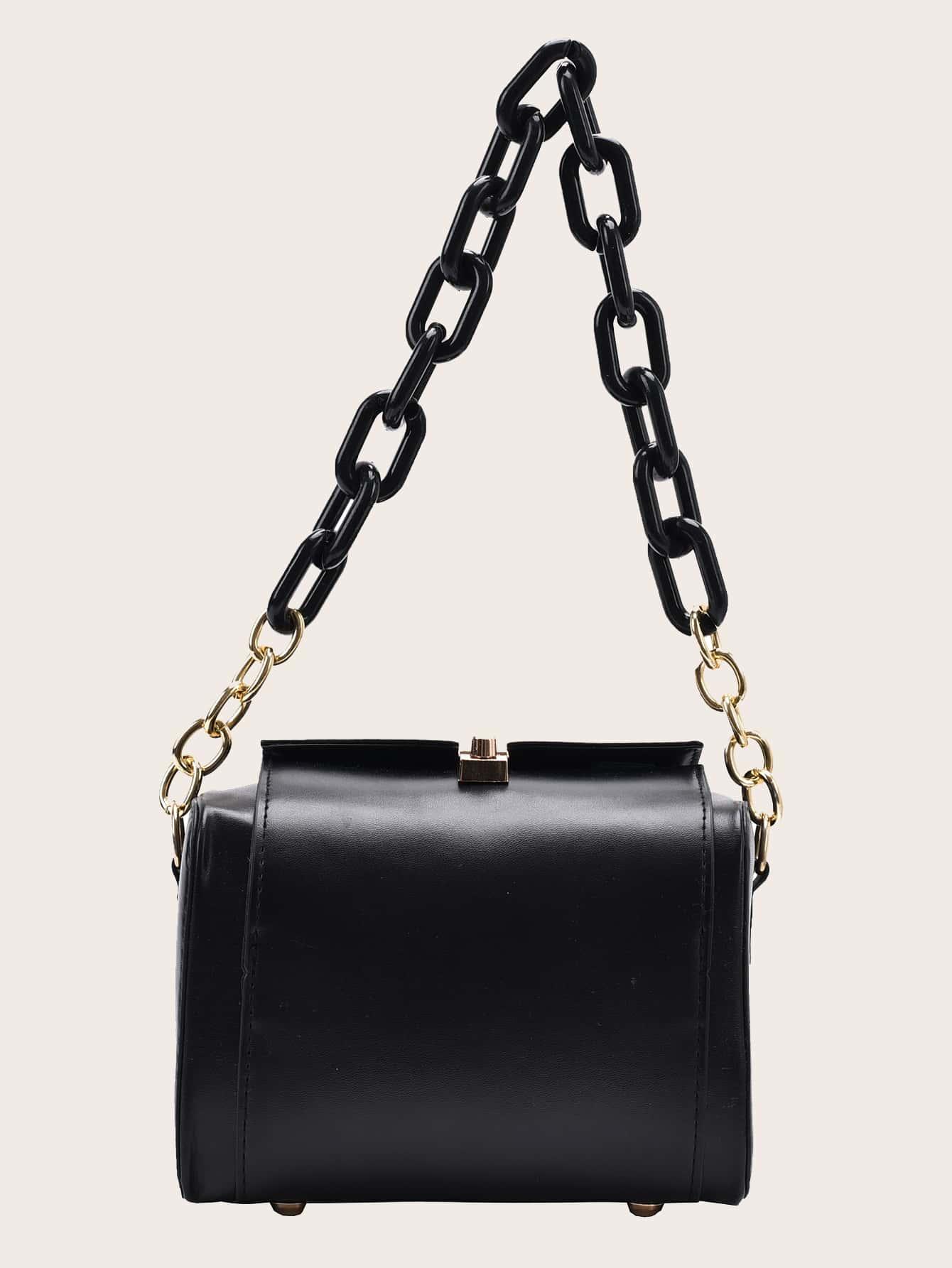 Chain Detail Shoulder Bag thumbnail