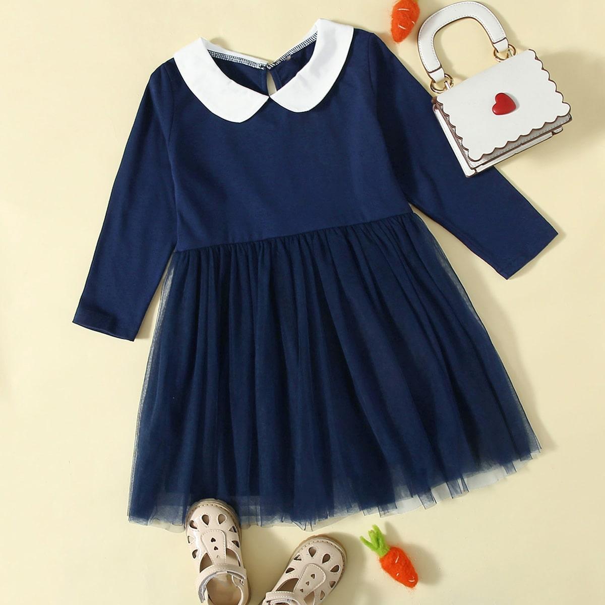 Оригинальное платье для девочек