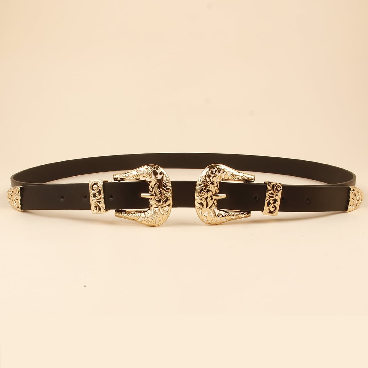 SHEIN / Plus Hollow Out Buckle Belt