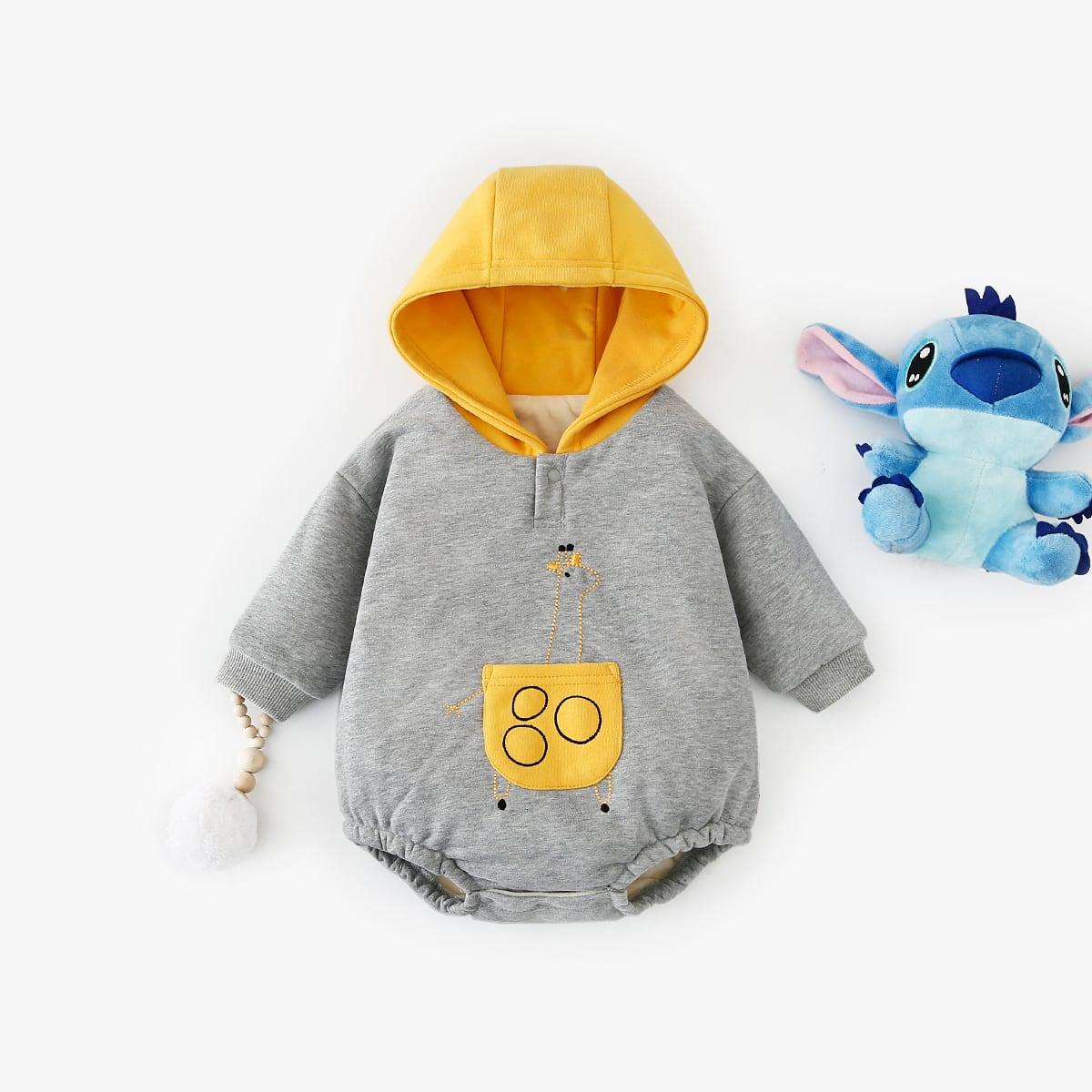 Детские боди с мультипликационной форме на термальной подкладке