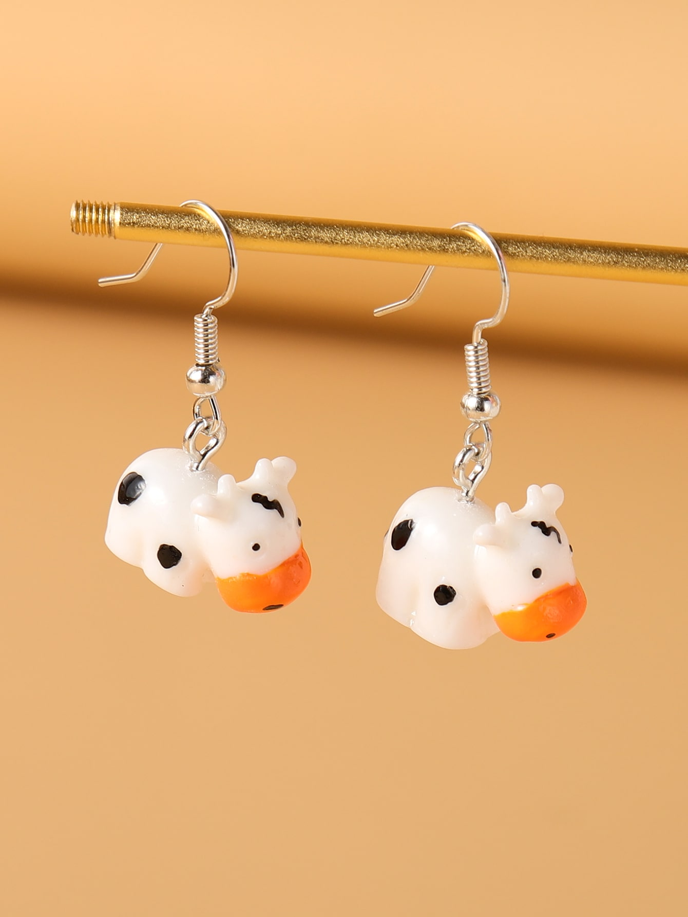 Animal Design Drop Earrings thumbnail