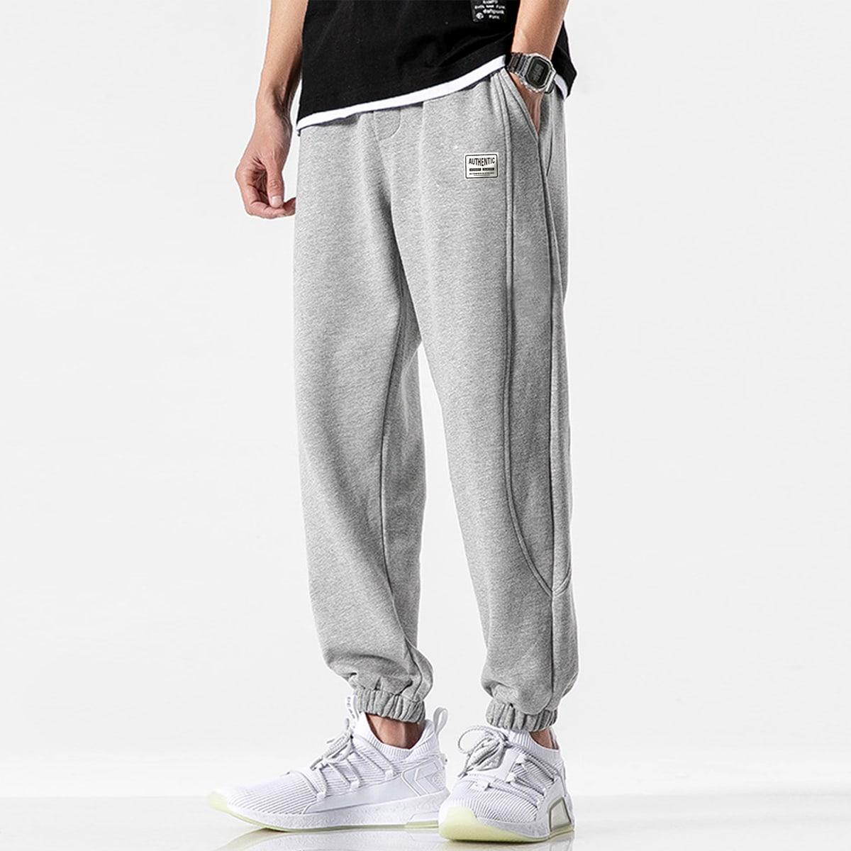 Мужские спортивные брюки с карманом