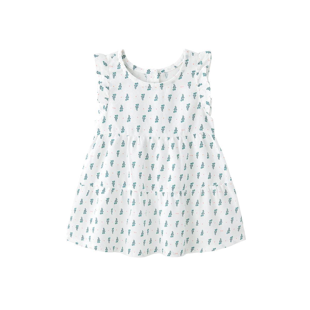 Платье с принтом для девочек