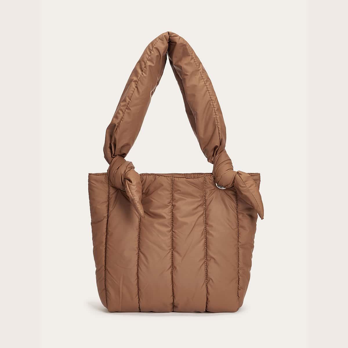 Одноцветный модный сумочка с