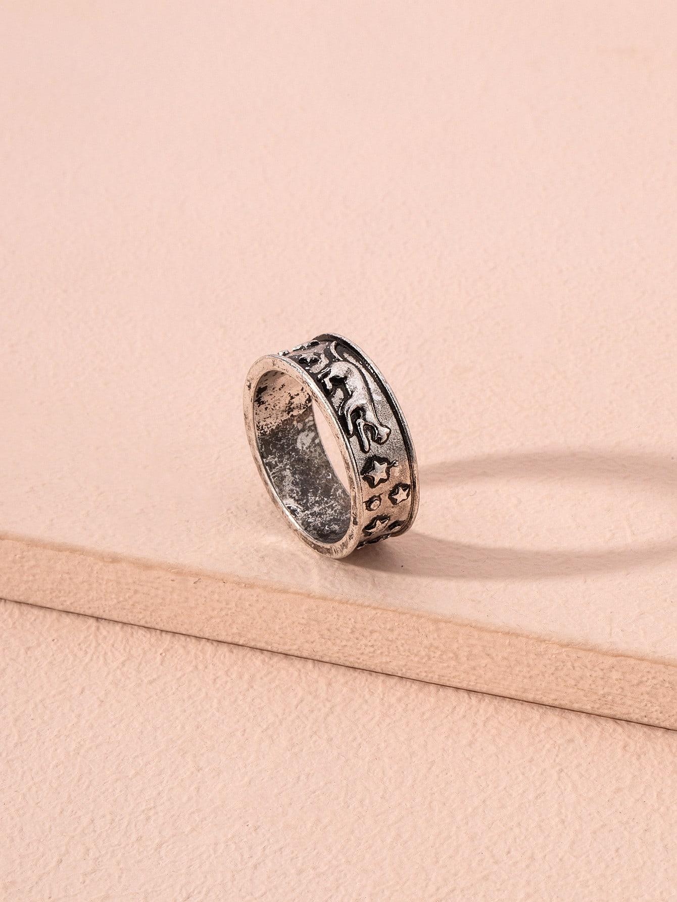 Star Carved Ring thumbnail