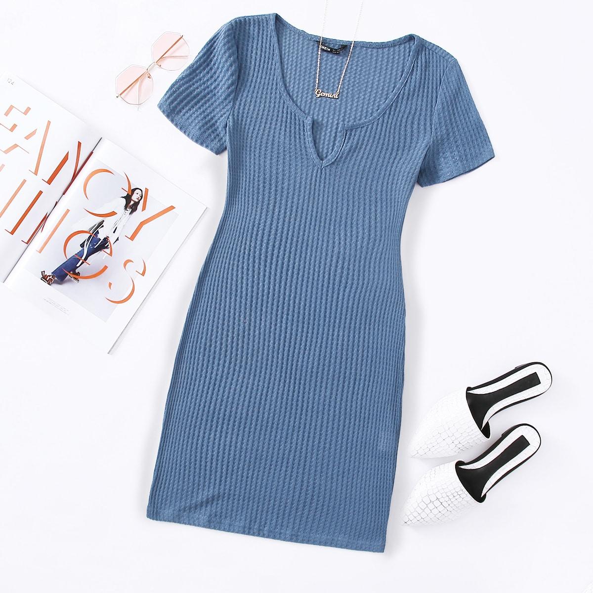 Вязаное платье SheIn swdress07201126540