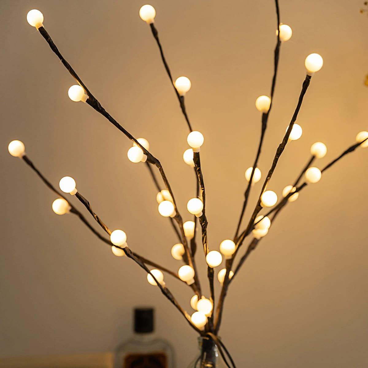 1 Stück Nachtlicht mit Zweigen Design