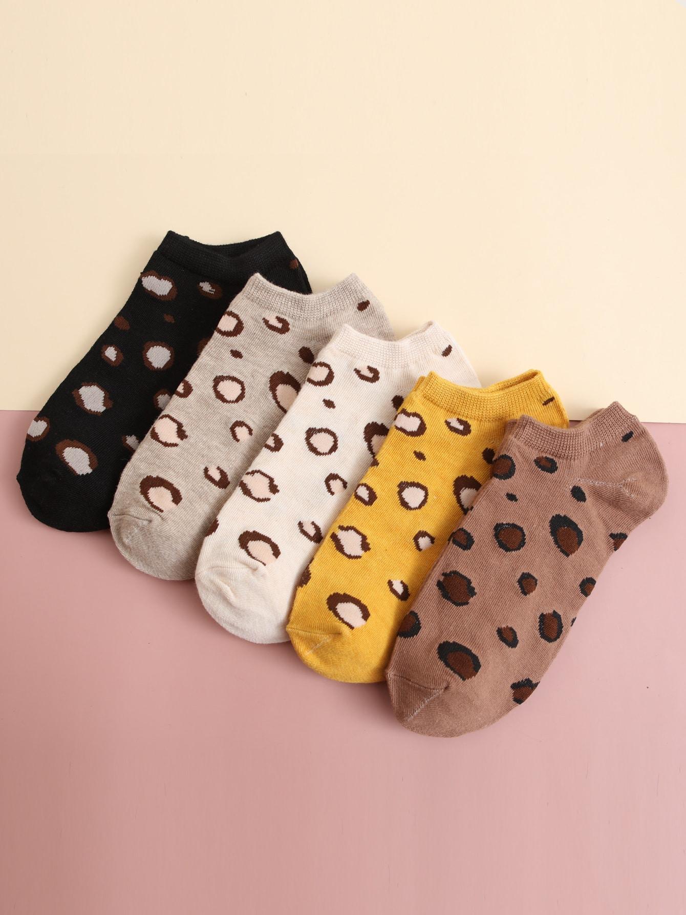 5pairs Graphic Short Socks thumbnail
